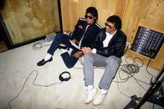 Jacko y Lionel Ritchie