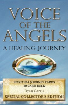 Free angel card readings online with Voice of the Angels - A Healing Journey Spiritual Cards by Dyan Garris. (Deck is sold out and out of print, but you can still get a free angel card reading online with this deck).
