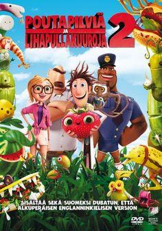 Poutapilviä ja lihapullakuuroja 2 DVD 9,95€