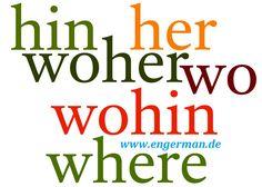 German Grammar - Lokaladverbien | L E A R N G E R M A N