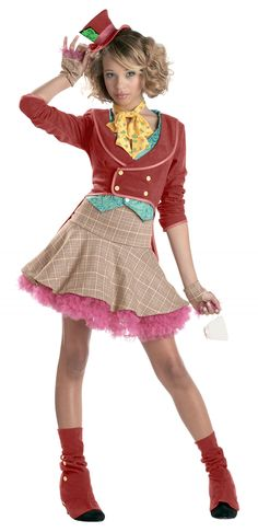 mad hatter costume for teen girls - Google Search