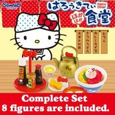 6a880f6dc Re-Ment Sanrio Hello Kitty Hokahoka Retro Diner Petite Figure Complete Set Hello  Kitty Restaurant