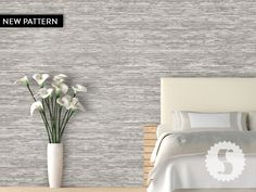 Grasscloth temporary wallpaper