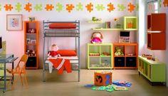 Decora la pared de un cuarto infantil
