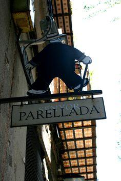 barcelona, europe, type, typographic, restaurant