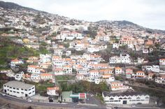 View from Cable Car in Madeira -  My First Food Festival: Rota das Estrelas in Madeira, Portugal