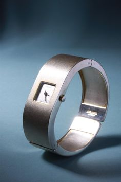 Sterling Silver Watch,  Designed by Björn Weckström For Lapponia, Finland 1970's.......