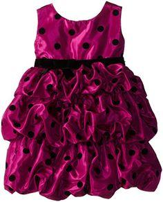 Blueberi Boulevard Little Girls' Dot Print Flocked Bubble Dress, Cerise, 4T Blueberi Boulevard http://www.amazon.com/dp/B00LUGPNL4/ref=cm_sw_r_pi_dp_XR-rvb1Q4K4K2
