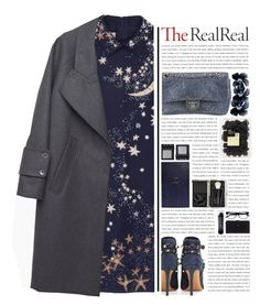"""""""""""Holiday Sparkle With The RealReal"""" - Contest Entry"""" by arierrefatir ❤ liked on Polyvore featuring Valentino, Chanel, Gucci, Smythson, NARS Cosmetics, Bobbi Brown Cosmetics, Carven, polyvorecontest, holidaysparkle and TheRealReal"""