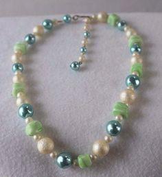 Women's Multi-Color Round Beads Adjustable Fashion Necklace #Unbranded #StrandString
