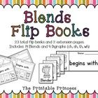 Beginning blends flip books. Contains 23 flip books (19 blends and 4 digraphs) to help students learn beginning blends and digraphs. All books are black and white. Photocopier friendly!
