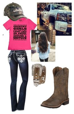 A Muddin Day By Tjohnson0129  E2 9d A4 Liked On Polyvore Featuring Cabelas And Nocona Country