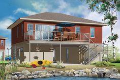 Plan 22340DR No Worries Flood Zone House Plan Flood zone House