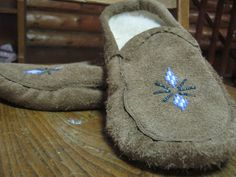 Moccasins No Fur, $25.00