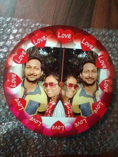 Round Love wall Clock