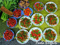 Food Photography Red and Green Chillies by WorldPhotosbyPaola. Etsy  I am a chilli wimp but they look sooo good!