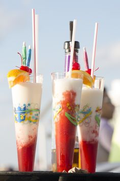 Cool off with a cocktail. We recommend our famous Labadoozie. #labadee