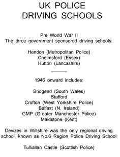 West Yorkshire Police, Chelmsford Essex, Manchester Police, Advanced Driving, Driving School, Schools, Driving Training School, School, Colleges