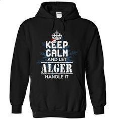 Let ALGER handle it! - #printed tee #hoodie womens. GET YOURS => https://www.sunfrog.com/Christmas/Let-ALGER-handle-it-4395-Black-9709965-Hoodie.html?68278