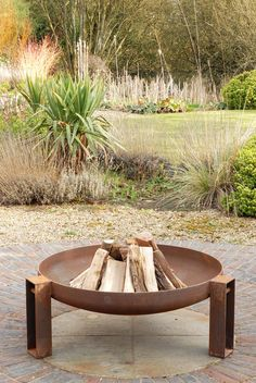 Vulcan fire pit from magmafirepits, durable 5mm steel firepit
