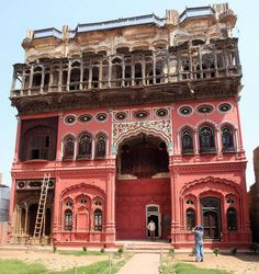 Omar Hayat Mahal Library (also spelled as Umer Hayat Mahal Library or known as Gulzar Manzil) (Urdu: عمر حیات محل) is a 19th century wooden architectural wonder of Chiniot, Pakistan.