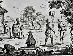 Early American Gardens: Garden History - Practical Structures - Beehive - 1772 Honey Bees Encyclopedie of Dictionnaire Raisonné des Sciences de Diderot.