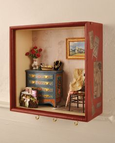 Hooked on miniatures - Dolls House Magazine - Crafts Institute