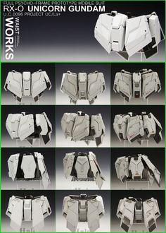PG Unicorn Gundam + Full Armor Part Set - Customized Build Gundam Tutorial, Strike Gundam, Robots Characters, Gundam Wallpapers, Gundam Mobile Suit, Unicorn Gundam, Gundam Custom Build, Sci Fi Armor, Gundam Art
