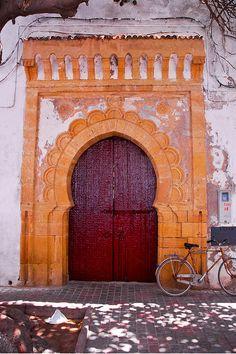 Africa | 'Red door' Essaouira, Morocco. © Cedric Converset 000