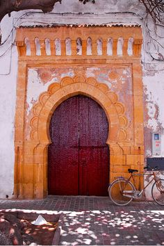 Africa | 'Red door' Essaouira, Morocco. © Cedric Converset