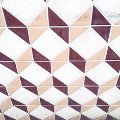 Vintage tiles, pattern, graphic