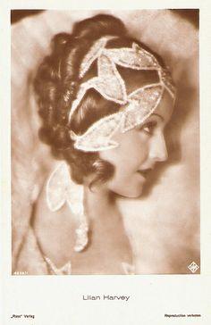 Lilian Harvey, star of the 1930's