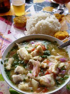 Fish Ceviche in Salinas Ecuador