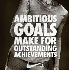 Ambitious goals make for outstanding achievements. #lornajane #myactiveyear