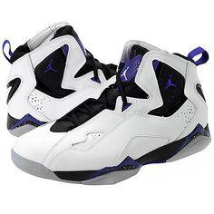 [342964-153] Men's Nike Air Jordan True Flight Basketball Shoes White Sz 11 New #Nike #BasketballShoes