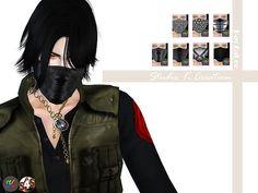 Studio K Creation: Winter Soldier Mask • Sims 4 Downloads
