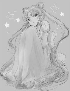 Sailor Moon Fan Art, Sailor Moon Usagi, Sailor Moon Crystal, Sailor Moon Background, Princesa Serenity, Sailer Moon, Neo Queen Serenity, Sailor Moon Aesthetic, Moon Princess