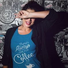 There's always time for Coffee. Available in multiple colors. #coffee #coffeeshirt #teespring #coffeeteespring #coffeeshirt #coffeeshop #thecoffee #coffeefunnyquotes #coffeefunnygift #coffeecup