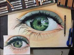 beautiful #art #drawing #eye