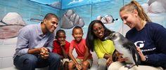Party with the Penguins at the Georgia Aquarium (January 17, 2015) //Celebrate Penguin Awareness Day with a real penguin! Test your knowledge of penguins with some penguin...