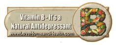 Vitamin B - antidepressant