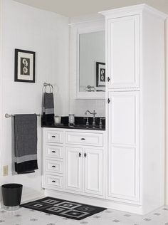 "Danbury Vanities (White) - Discount Assembled Bathroom Cabinets - Kitchen Cabinets | In Stock Kitchens | Kitchen Cabinet Outlet | Wholesale Kitchen Cabinets - Danbury Vanities (White) - Discount Assembled Bathroom Cabinets ""Custom"" build pieces"