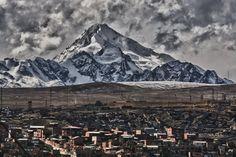 Huayna Potosí, desde El Alto