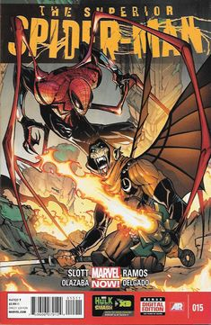 The Superior Spider-Man # 15 Marvel Now!