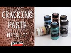 Metál repedőpaszta // Cracking Paste Metallic - YouTube