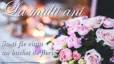 La Multi Ani Gif, Happy Birthday, Table Decorations, Holiday, Flowers, Cards, Gifts, Frases, Happy Brithday