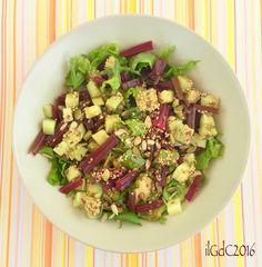 il giardino dei ciliegi: Pausa pranzo: insalatina aromatica con coste rosse...
