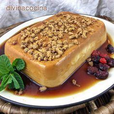 Este flan de queso sin horno se prepara en pocos minutos y tiene una textura similar a la tarta de queso. Si te gusta la tarta de queso, esta es tu receta!