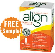 FREE 7-Day Sample of Align Probiotics!