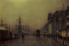 John Atkinson Grimshaw - Liverpool